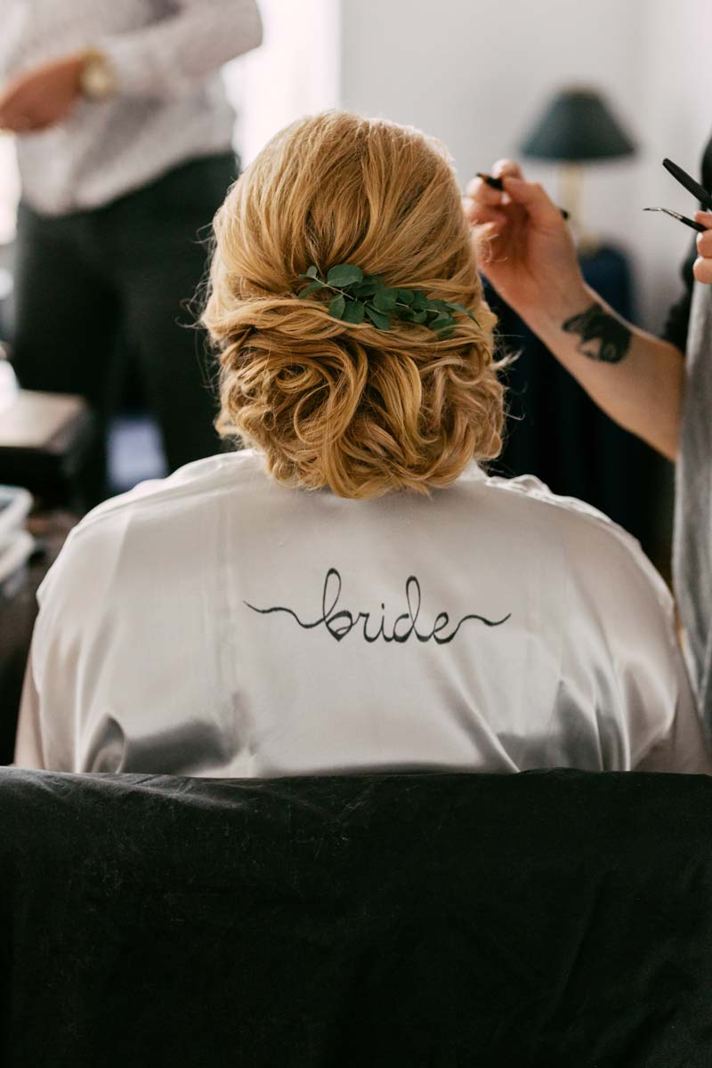 Bruidsmake-up Rotterdam en Bruidskapsel door Joyce van Dam