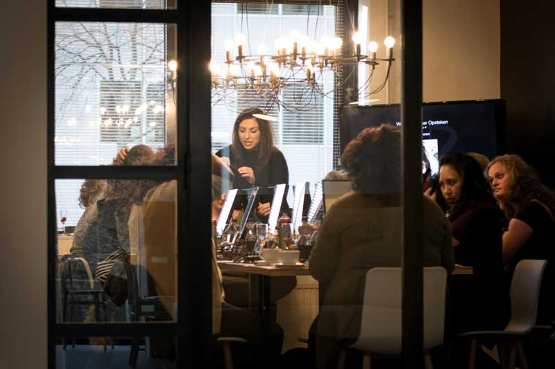 Workshop visagie Rotterdam | Door Joyce van Dam Hair & Make-up Artist