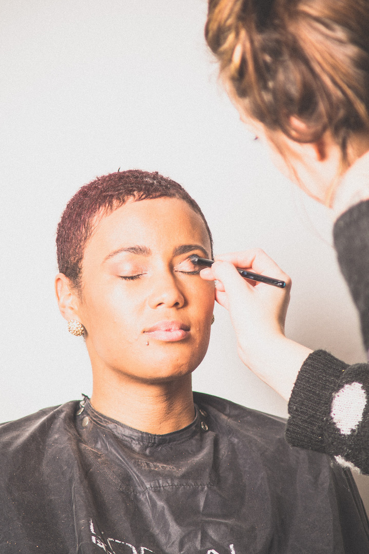 Make-up fotoshoot door Joyce van Dam