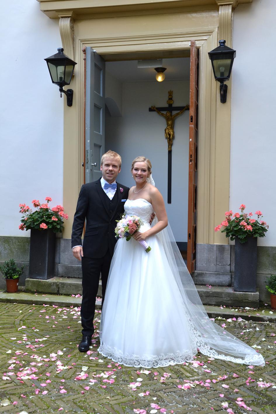 Bruidskapsel en Bruidsmake-up Annechienne