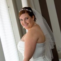 haar en make-up voor de bruiloft