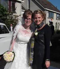 Haar op de bruiloft - Hair & Make-up Artist Joyce van Dam