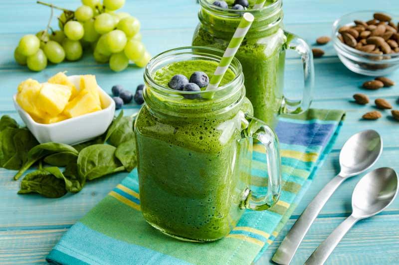 Groente Smoothies! Groene smoothies voor een gezonde huid | Door Joyce van Dam Hair & Make-up Artist