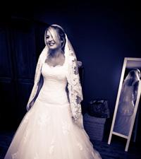 Bruidsmakeup en bruidskapsel door Joyce van Dam