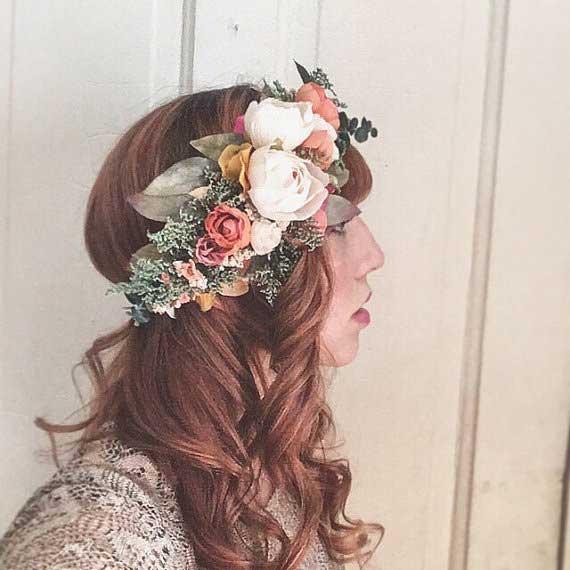 Bohemian kapsel & Bohemian bruidskapsel