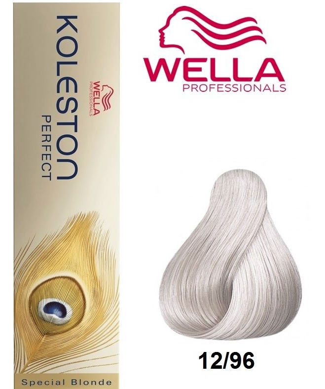 how to use wella koleston 12 96