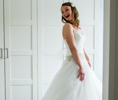 Bruidskapsel en Bruidsmake-up ervaringen Joyce van Dam