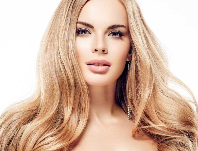 Haar blond verven