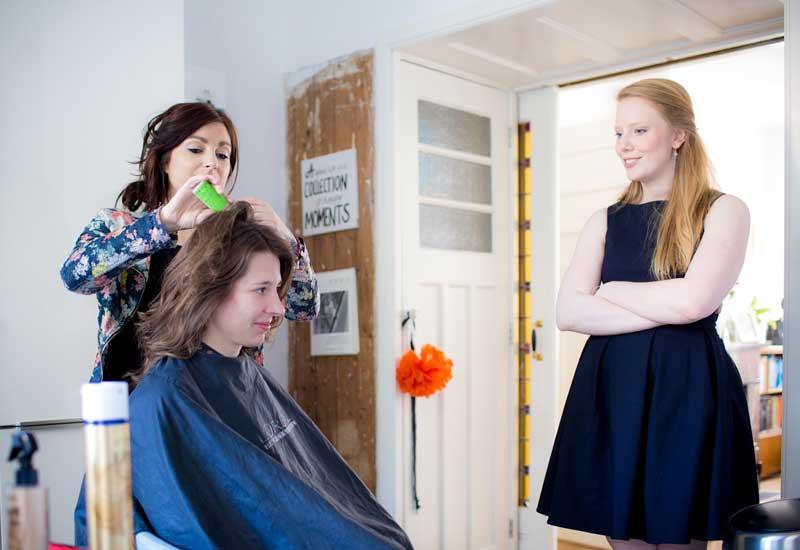 Fotoverslag & Blog. Joyce van Dam - Bruidskapsel - Bruidsmake-up - Visagiste (aan huis) - Worksop visagie - Masterclass Make-up
