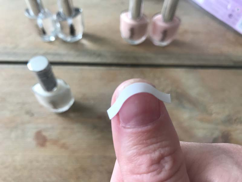 French Manicure Nagels Lakken DIY |Door Joyce van Dam Hair & Make-up Artist
