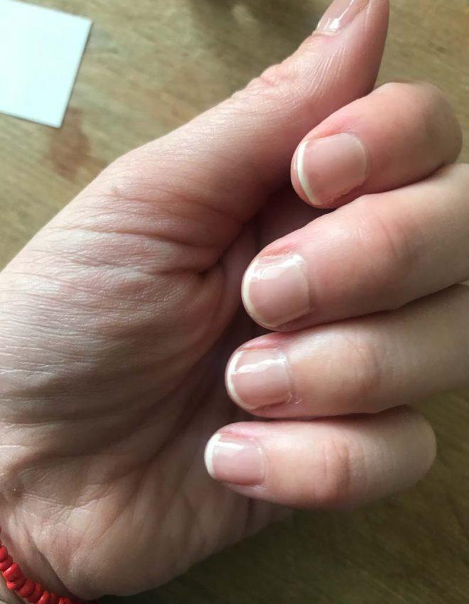 French Manicure Nagels Lakken – DIY