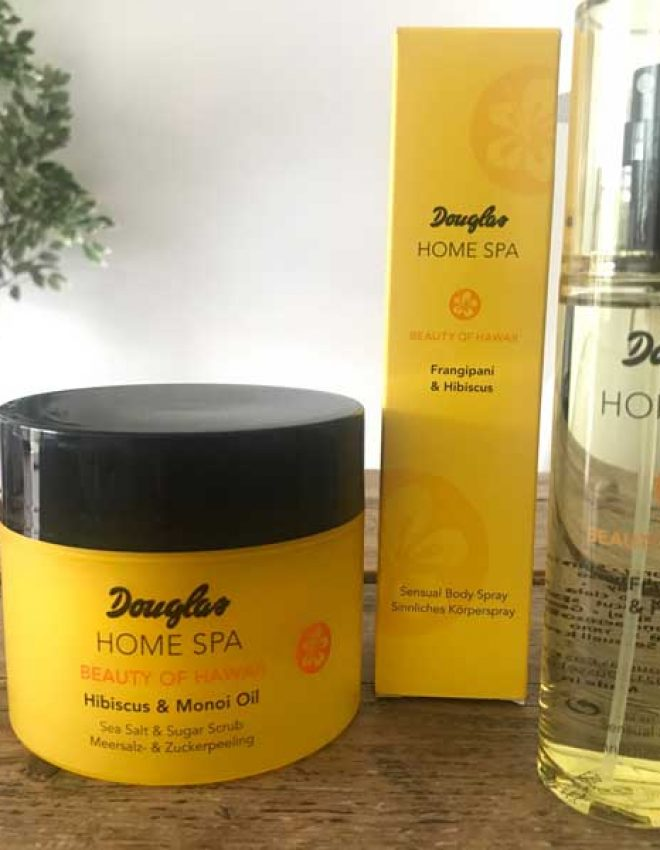 Review – Douglas Collection Home Spa: Beauty of Hawaii