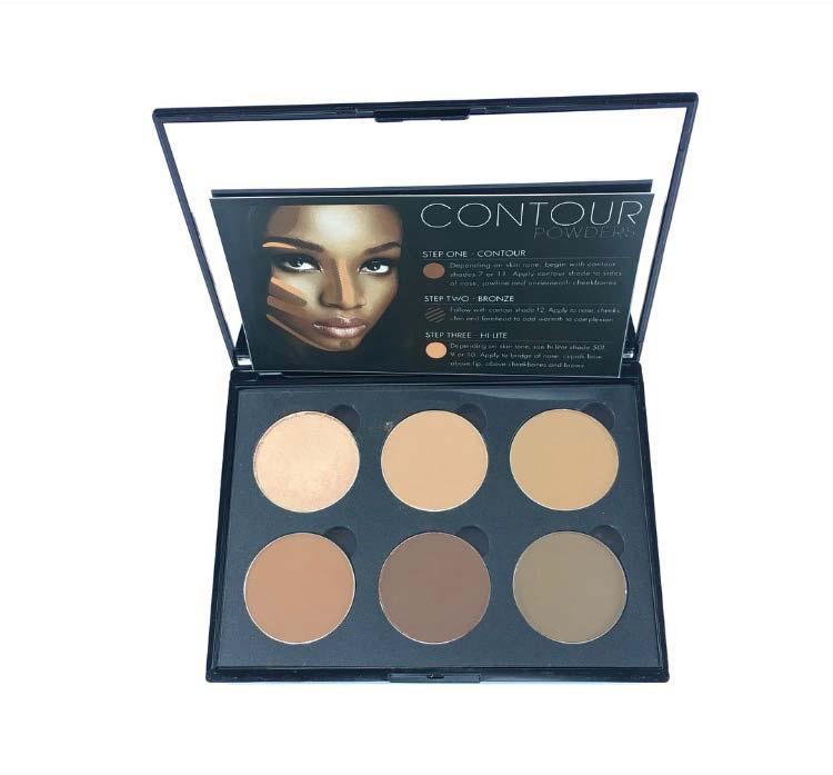 JVD Cosmetics Contour Palette Dark